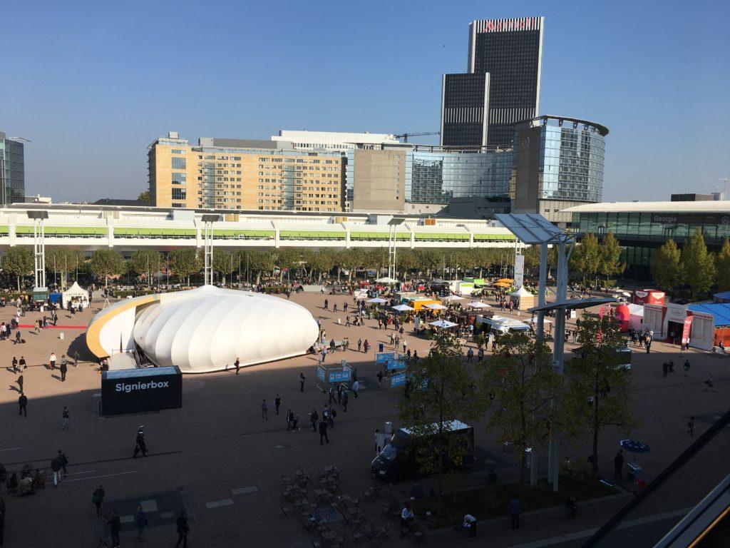 Bild: Frankfurter Buchmesse Messe-Agora