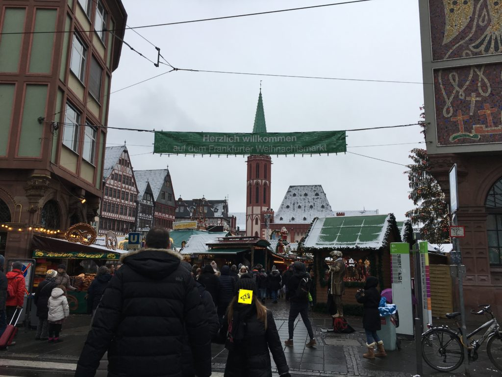 Der Frankfurter Weihnachtsmarkt auf dem Römer