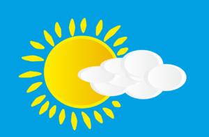 Symbolbild: Wetterbericht - Wettervorhersage - Wetter