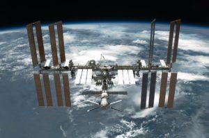 Symbolbild: Internationale Raumstation (kurz: ISS)