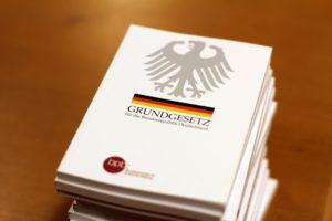 Symbolbild: 70 Jahre Grundgesetz in Deutschland