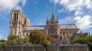 Symbolbild: Notre-Dame de Paris vor dem Brand