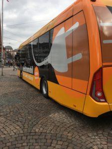 Bild: Elektrobus des Herstellers Sileo bei HEAG mobilo in Darmstadt