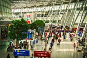 Symbolbild: Terminal 3 - Grundsteinlegung am Frankfurter Flughafen