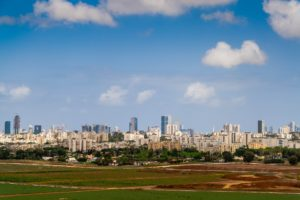 Symbolbild: Der ESC findet in Tel Aviv, einer Stadt in Israel statt