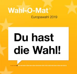 Bild: Wahl-O-Mat zur Europawahl 2019 - Du hast die Wahl!