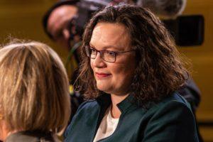 Symbolbild: Andrea Nahles tritt als SPD-Fraktionschefin zurück