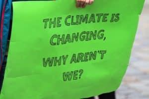 Symbolbild: Fridays for future: internationaler Klimastreik in Aachen