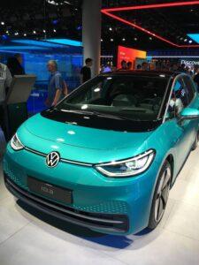 Bild: VW ID. 3 auf der IAA in Frankfurt