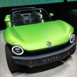 Bild: VW ID. Buggy präsentiert sich auf der IAA