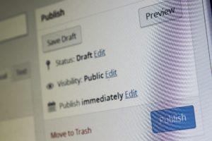 Symbolbild: WordPress unterstützt von Haus aus nur das zeitgesteuerte Veröffentlichen, doch nicht das Entfernen.