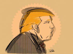 Symbolbild: Viel Wirbel um Donald Trump