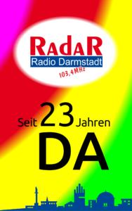 Radio Darmstadt feiert 23-jähriges Dauersendejubiläum
