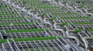 Symbolbild: Einkaufswagen, Bonpflicht