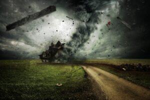 """Symbolbild: Zyklon """"Amphan"""" in Indien und Bangladesch"""