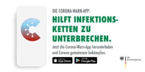 Corona-Warn-App des Robert-Koch-Instituts