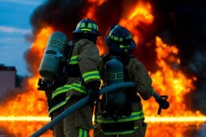 Symbolbild; Großbrand auf Recyclinghof in Diez
