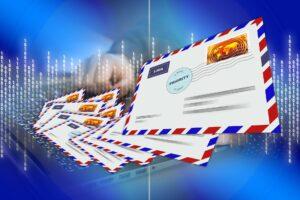 Symbolbild: Die erste E-Mail im Internet
