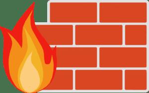 Symbolbild: Eine Firewall gehört zum Deep-Web dazu