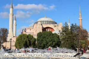 Symbolbild: Hagia Sophia: Vom Museum zur Moschee
