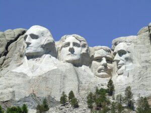 Symbolbild: Größenwahn: Trump am Mount Rushmore