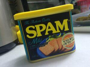 Symbolbild: Was haben Dosenfleisch und Spam gemein?
