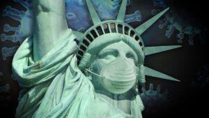 Symbolbild: Ein US-Präsident, ein Virus und eine Geschichte